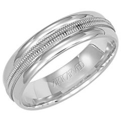 Plume for Her Platinum Wedding Band 11-WV7270P