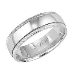 Platinum 6.5mm Wedding Band for Her 11-WV733P65