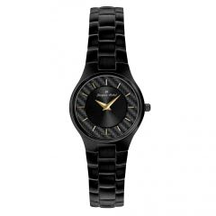 Black IP Plated Stainless Steel Carbon Fiber Dial  3 ATM Watch by Jacques Michel Style# JM-12185