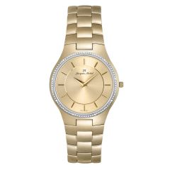 3 ATM Watch by Jacques Michel with Genuine Diamond Style# JM-12219