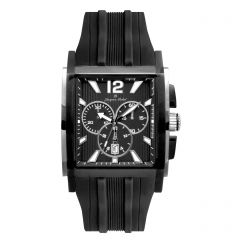 IPB Plated Stainless Steel Swiss Chronograph Luminous Dial and Hands  10 ATM Watch by Jacques Michel Style# JM-12244